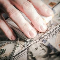 Hand on Money